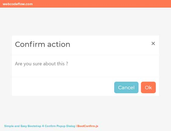 Bootstrap-4-Confirm-Popup
