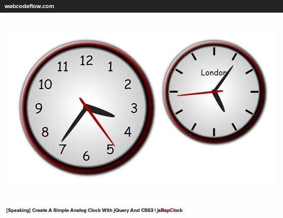 JQuery-Speaking-Clock-Plugin