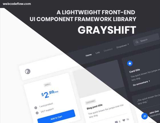 UI-Component-Framework-Library-Grayshift