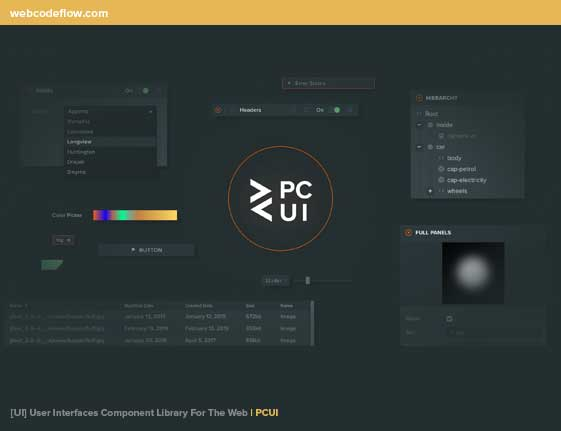User-Interfaces-Component-PCUI