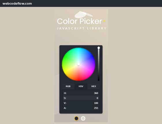 Flat-and-simple-color-picker