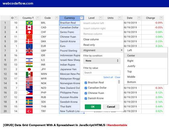 data-grid-spreadsheet-handsontable