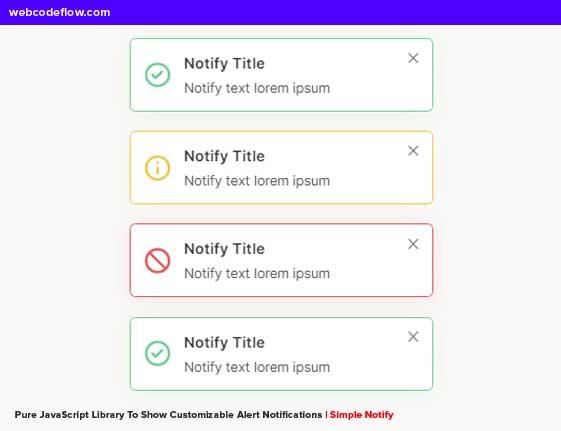 simple-alert-notify