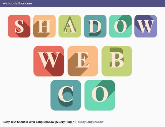 long-shadow-jquery-plugin