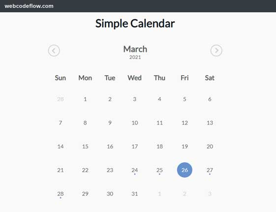 simple-calendar-plugin