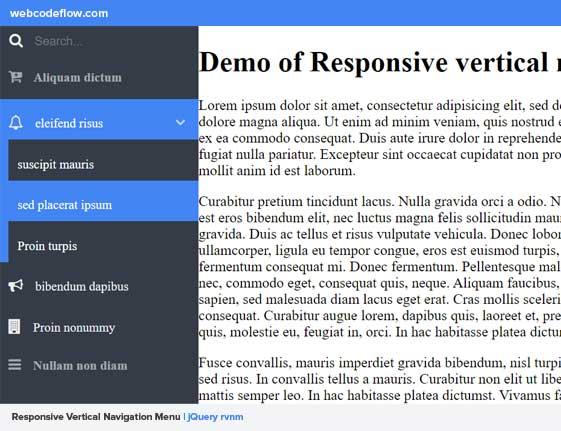responsive-vertical-navigation-menu