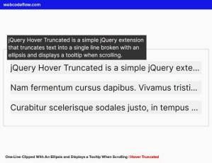jquery-hover-truncated