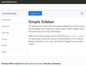 bootstrap-sidebar-navigation-template