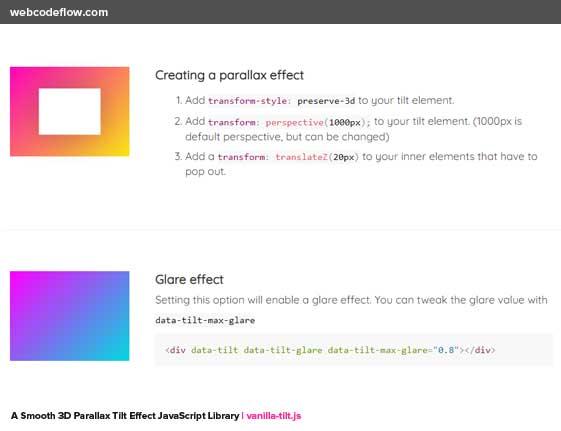 3d-parallax-tilt-effect-js