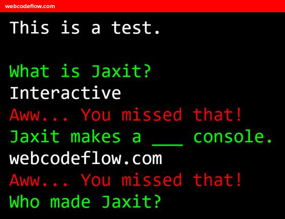 terminal-emulator-jaxit-library