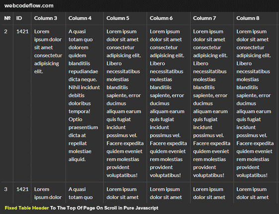 table-thead-fixed-tbody-scroll-css