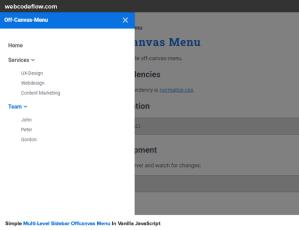 responsive-off-canvas-menu