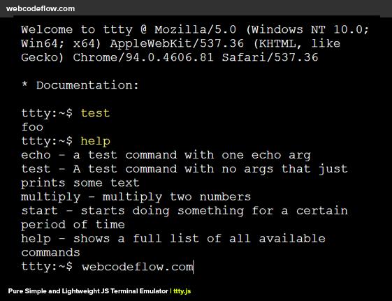 terminal-emulator-ttty-js