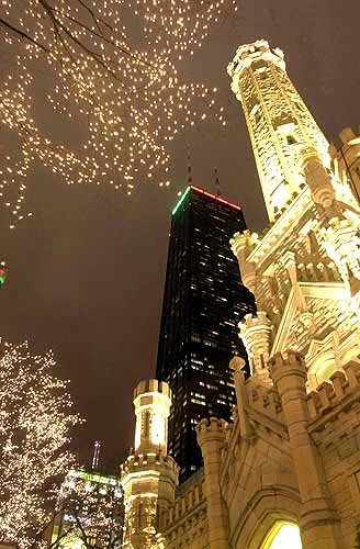 Chicago at Christmas. Love this.