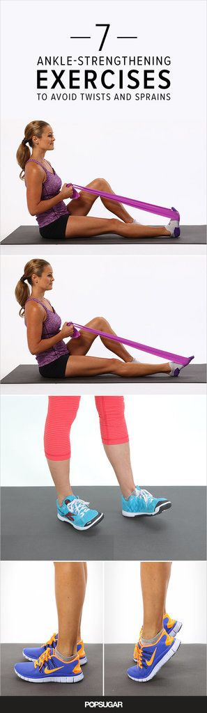 Ankles shouldn't be neglected during your strength-training routine. Strong, flexible ankles are an import