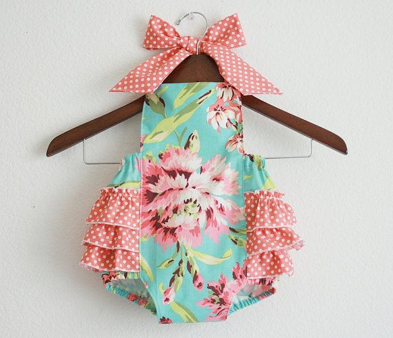 Ordered a romper like this for Stella for our family pictures coming up in May! Can't wait to see the fina