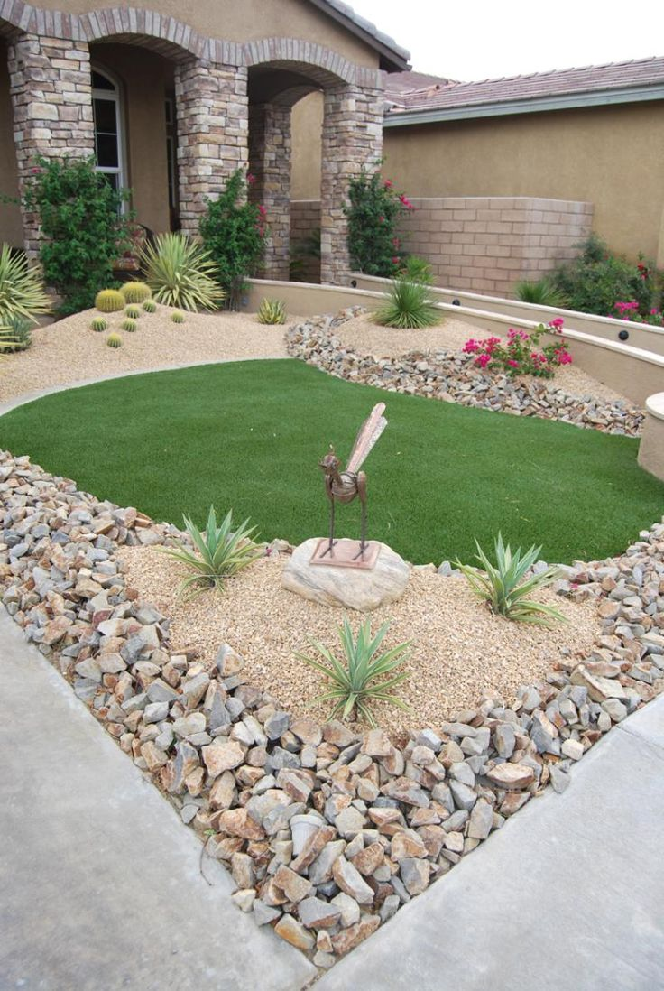 landscape ideas for front of house | Landscaping Ideas  Landscaping With Stone