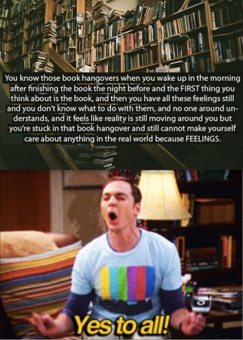 . this happens to me so often with amazing books. Its horrible and incredible at the same time. Get any bo