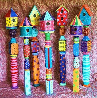 Funky Junky Birdhouses