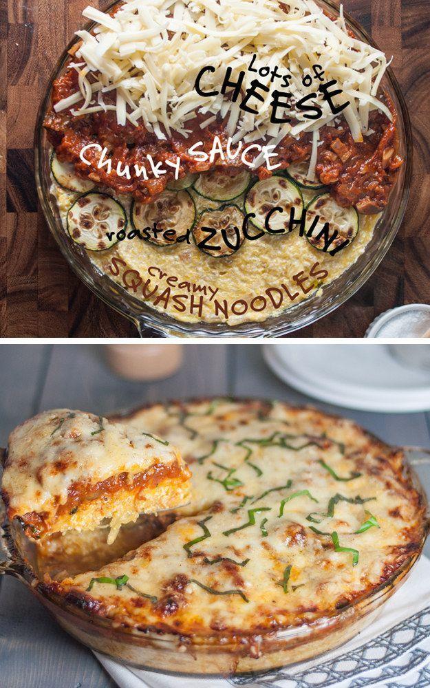 Low Carb – Spaghetti Squash Pie | 24 Low-Carb Spaghetti Squash Recipes That Are Actually Delicious