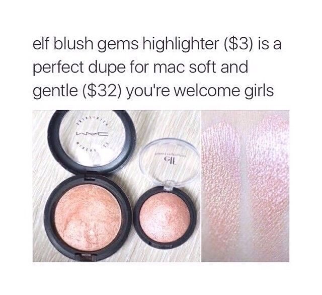 """Your day just got better with this tip: """"Makeup Dupes 3 #SpringForward"""""""