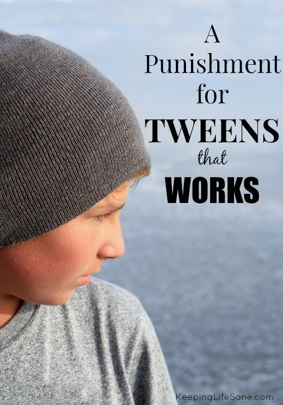 Are you having trouble finding a punishment that works?  Here's one that does and you'll want to read abou