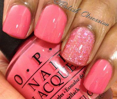 Polish Obsession: OPI – Elephantastic Pink. Pretty summer color