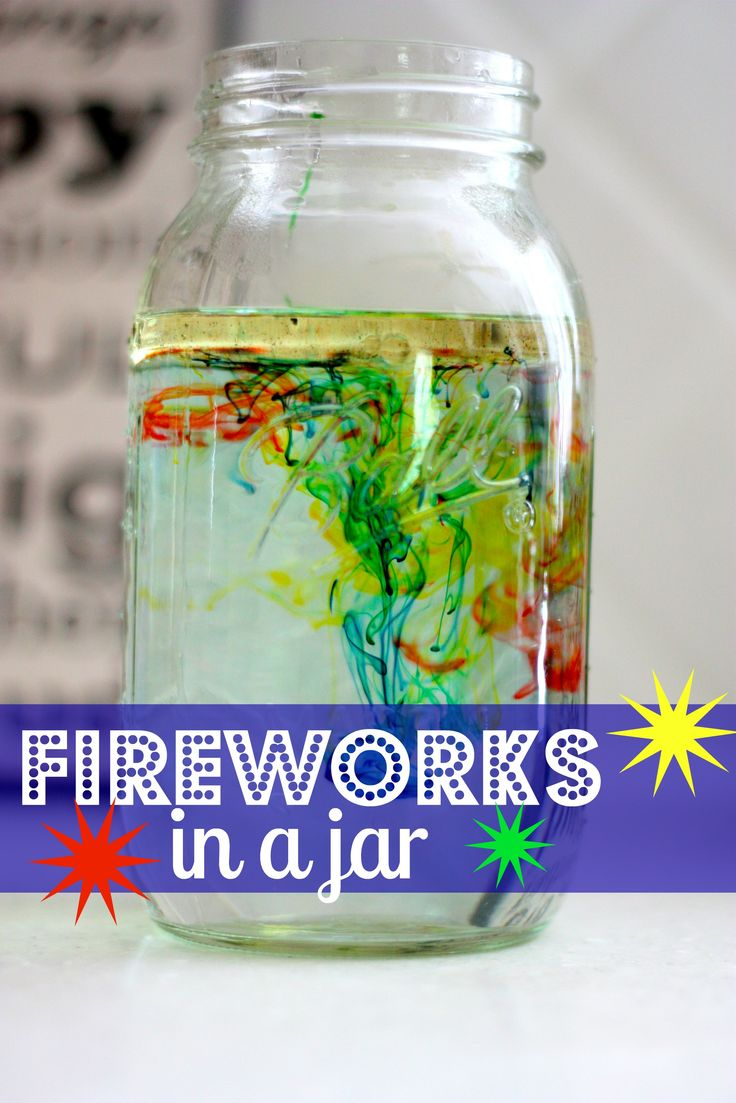 I need to be convinced, but if this works, it is so incredible!!  Fireworks in a Jar:  A fun science exper