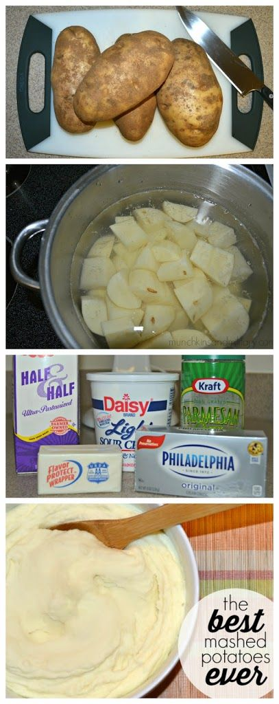 Mashed Potatoes Recipe – a super easy recipe for creamy and tasty potatoes!