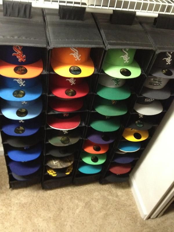Cap (fitted) Storage system