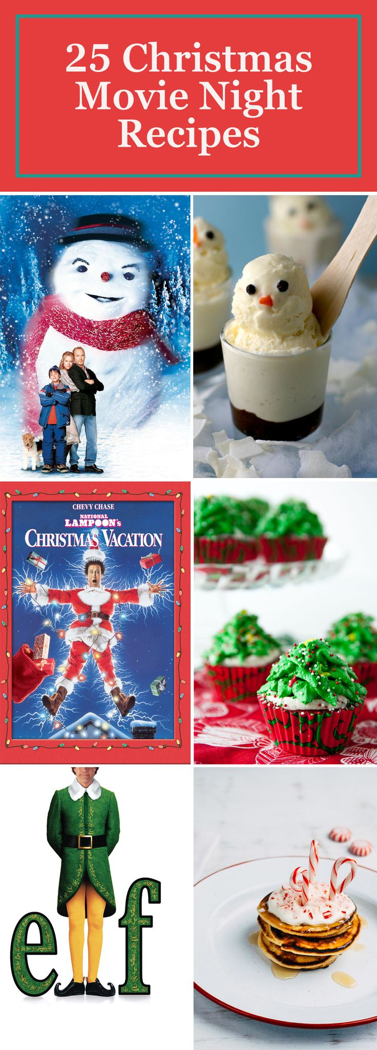 We've got the perfect pairings for all of your favorite Christmas movies, from savory snacks to delicious