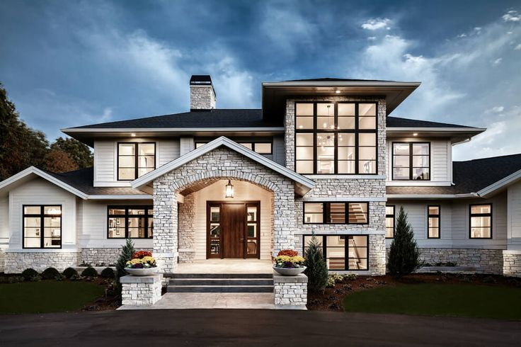 Traditional Meets Contemporary in Sophisticated Michigan Home – freshome.com/…