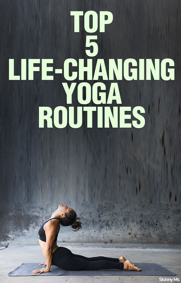 Top 5 Life-Changing Yoga Routines – Simply the best yoga routines i've found.