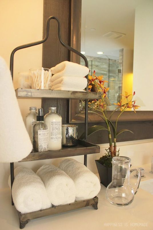 #17. Use tiered storage for small counter tops! | 29 Sneaky Tips For Small Space Living