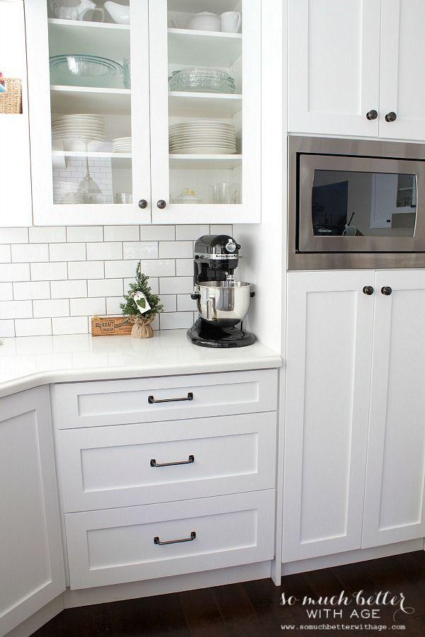 White kitchen industrial style | somuchbetterwitha…
