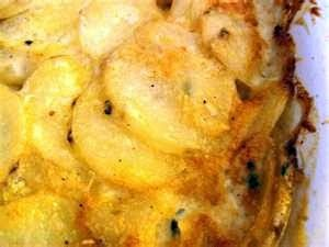 Pressure cooked scalloped potatoes! Yum! Just add some bacon or ham and you've got dinner!