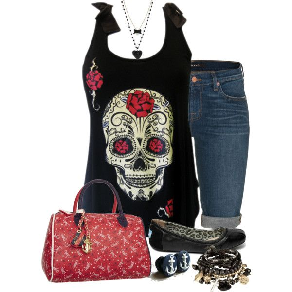 """Livia Cheyenne"" by michelle-hersh-wenger on Polyvore. Made for another daughter using her Rockabilly/Bets"