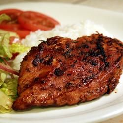 Blackened Chicken Allrecipes.com–this one has paprika & red pepper in, so it is not nightshade free. This