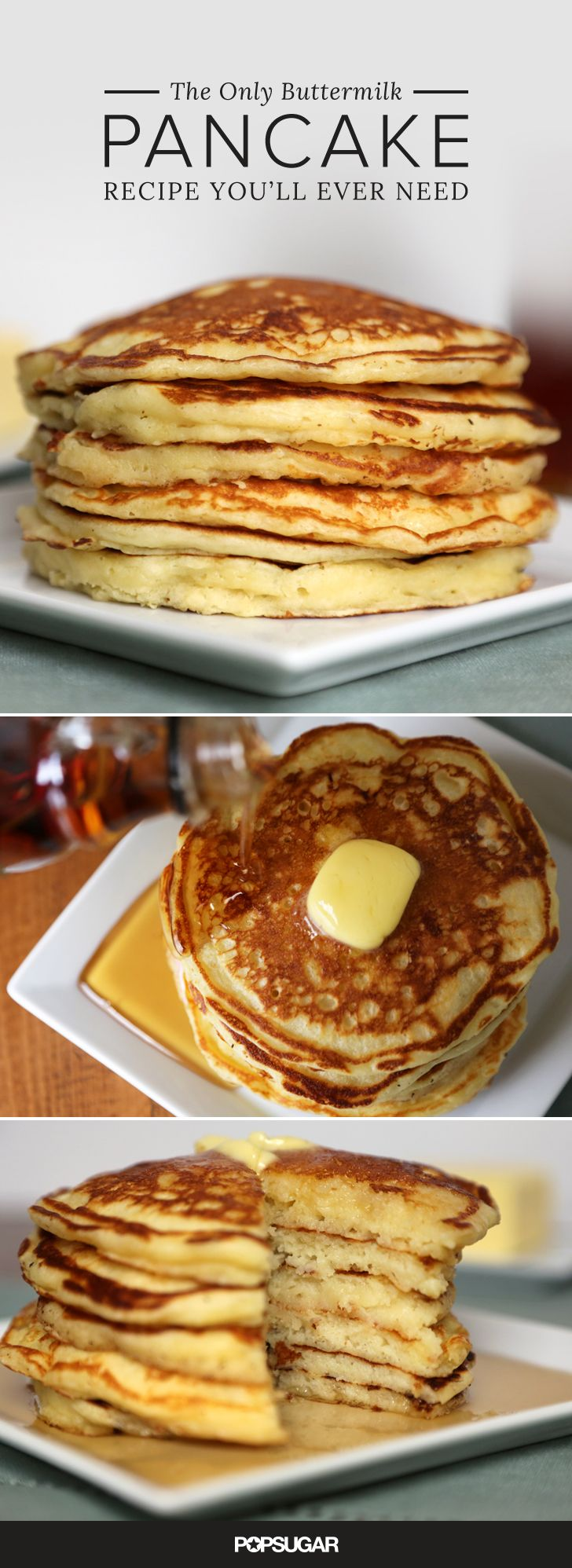 While many resort to pancake mix when making a special weekend breakfast, homemade pancakes are a must. Th