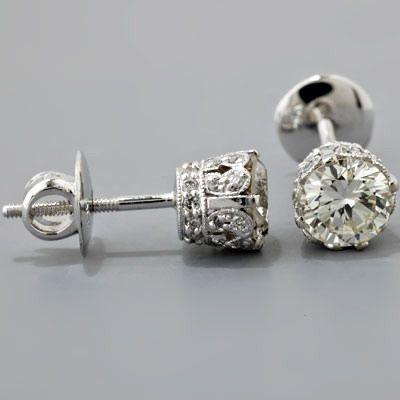 35 Pieces Of GorgeousJewelery – Style Estate – Vintage diamond studs
