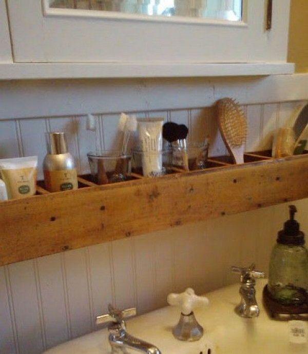 Pallet Wood Bathroom Storage, hative.com/…