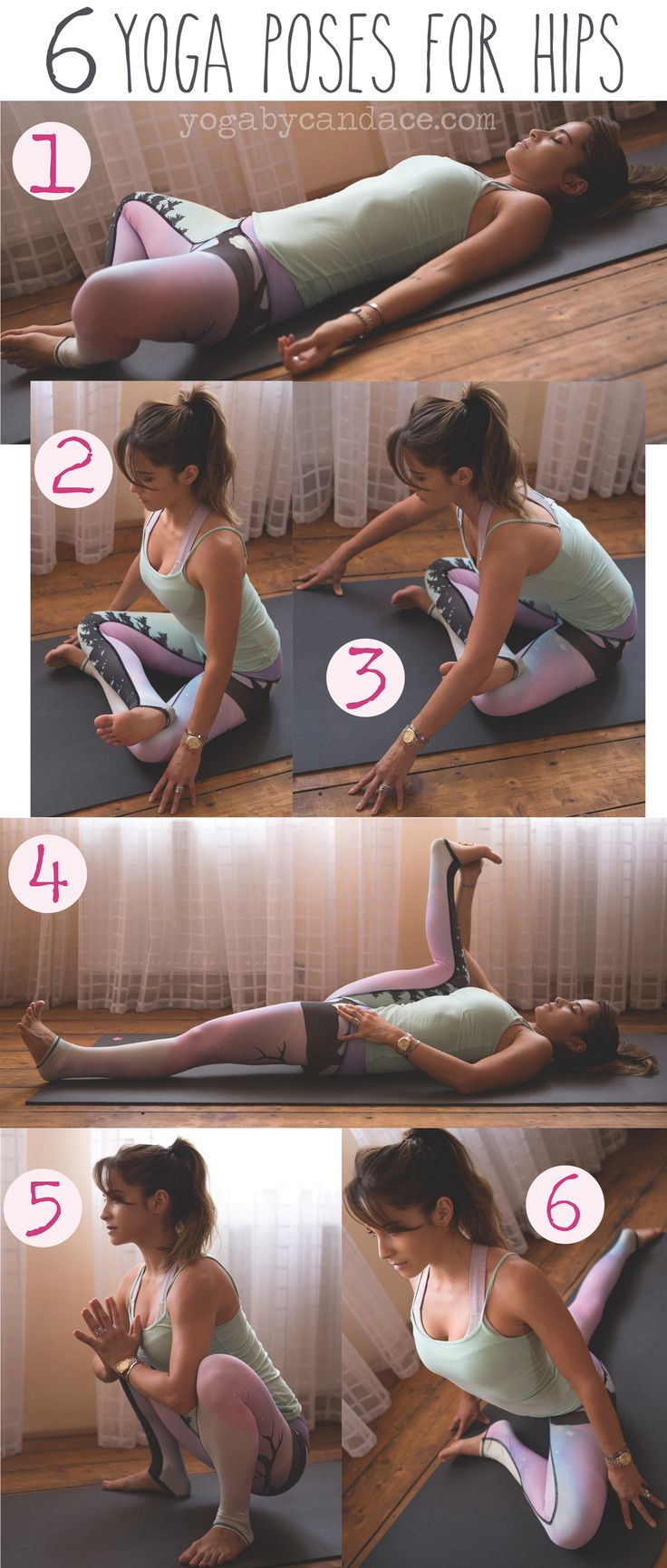 Hip openers for runners and also for anyone who sits all day.