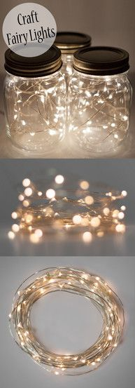 These amazing white fairy craft lights are perfect for decorating and DIY ideas! The tiny white lights