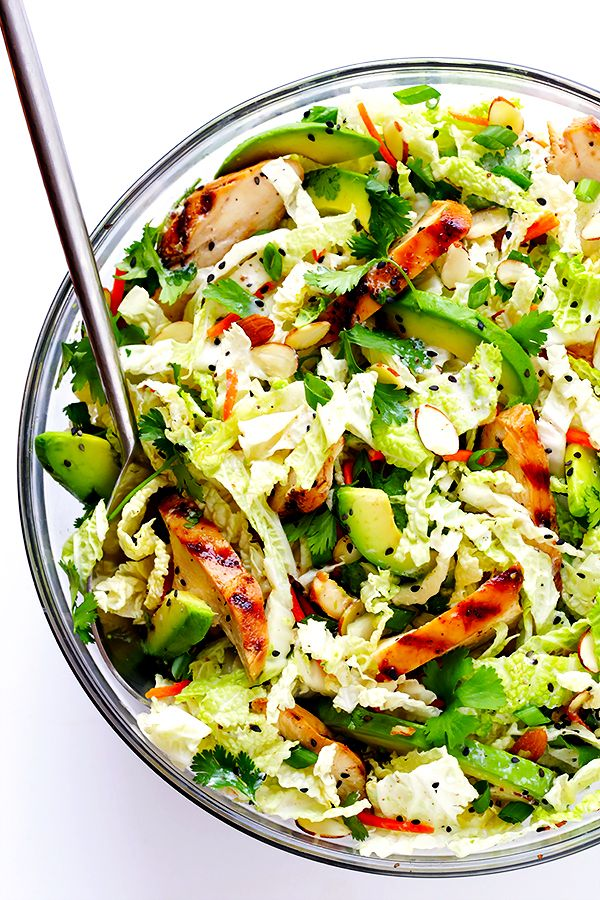 This Asian Chicken Chopped Salad recipe is packed with fresh ingredients and zesty chicken, and tossed