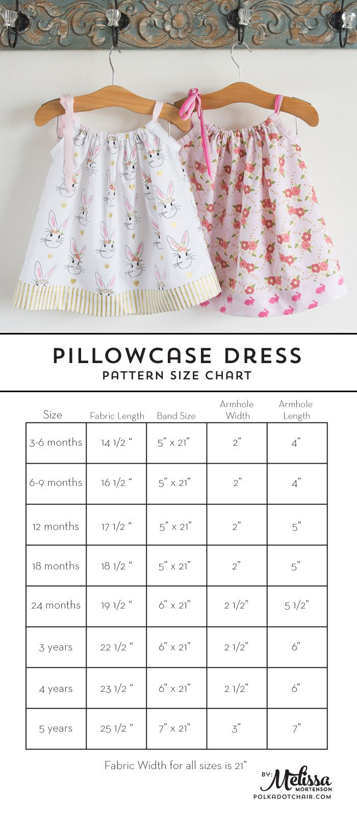 Learn how to sew a pillow case dress with this Pillowcase Dress Tutorial. Includes full instructions a