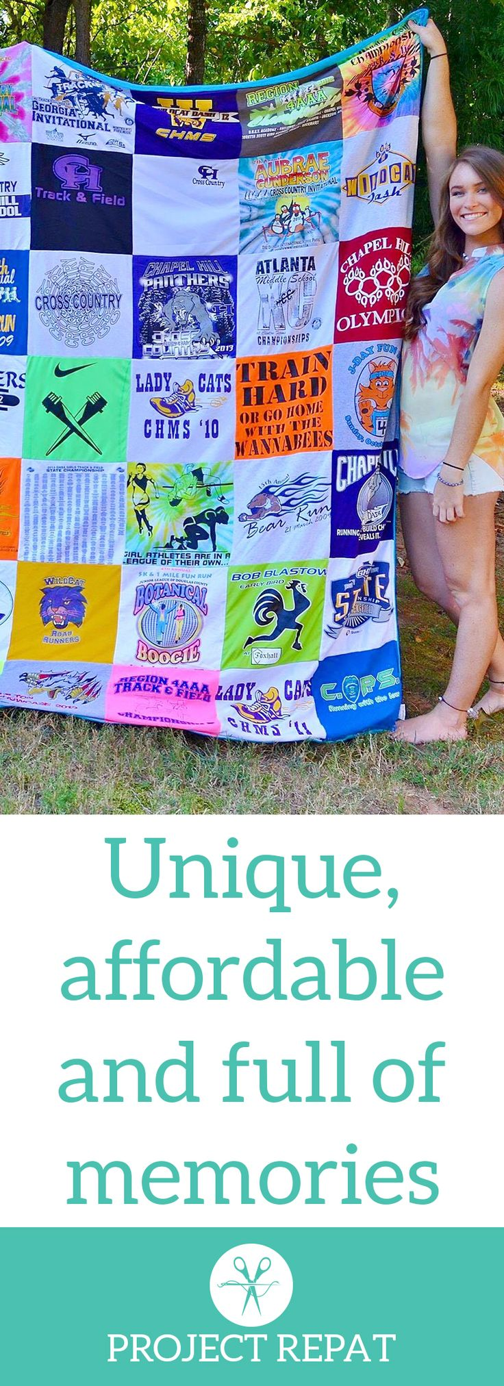 Every t-shirt quilt has a unique story to tell — what will yours say? Learn more about how you can t