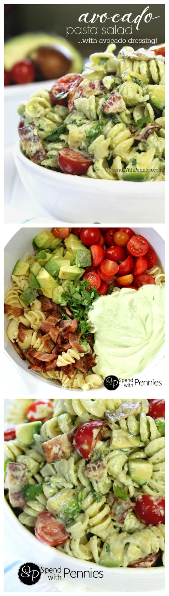 Cold pasta salads are the perfect & satisfying quick dinner or lunch! This delicious pasta salad r
