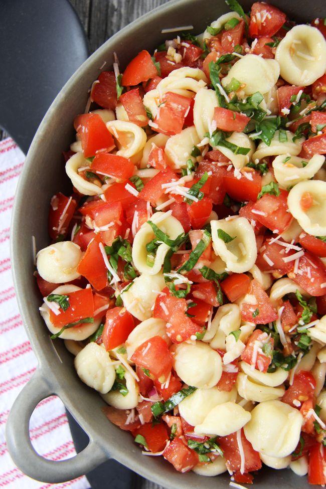 Bruschetta Pasta Salad – A Pretty Life In The Suburbs