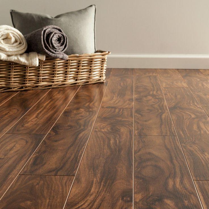 Advanced laminate flooring that walks like hardwood, feels like hardwood, & even sounds like hardw