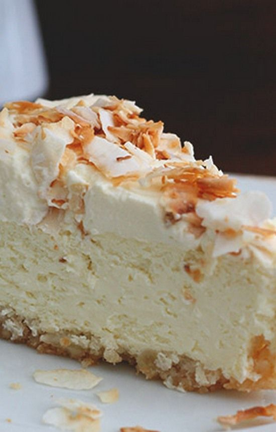Coconut Cheesecake with Macadamia Nut Crust – Gluten free